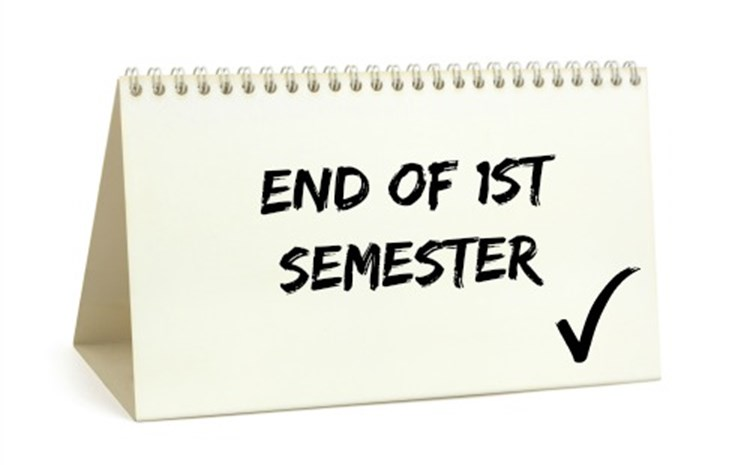 End of Semester Schedule - article thumnail image